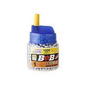 6mm bb slv plast kuler (1000-pack)