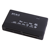 All-in-1 Mini USB 2.0 Card Reader (Black)