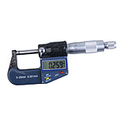 0~25 mm Electronic Digital Micrometer (0.001mm Resolution)