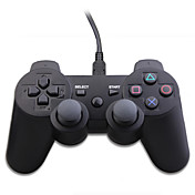 USB Wired DualShock 3 Control Pad for PS3/PC (Black)