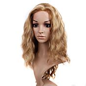 Lace Front Long High Quality Synthetic Light Blonde Curly Hair Wig