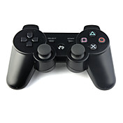 Rechargeable USB DualShock 3 Wireless Controller for Playstation 3/PS3 (Black)