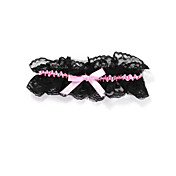 Lace With Satin Ribbons Party/ Special Occasion Garters