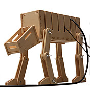 Robot Dog Shaped DIY Wooden Electric Wire Organizer/Strapper