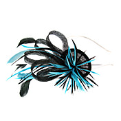 Beautiful Fascinator With Feather Weddding/ Partying Headdress Flower