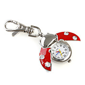 Novelty Ladybird Keychain Watch