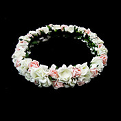Lovely Foam Flower Wedding Flower Flower Girl Wreath/ Headpiece