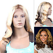 Beyonce's Fashionable Style Custom Full Lace Curly 16&quot; Indian Remy - 26 Colors To Choose