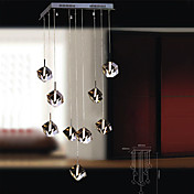 180W Pendant Light with 9 Nights in Cubic Crystal(G4 Bulb Base)