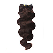100% Indian Remy Hair 16&quot; Machine Made Body Wave Weft 26 Colors To Choose