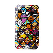 Colorful Protective Spot Hard Case for iPhone 3G