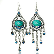 Antique Silver-plated Classic Earring