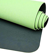 aimida - extra lunga eco-friendly tpe yoga pilates mat (6mm)