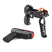 2-in-1 Light Gun Pistol Adapter for PS3 Move (Black)