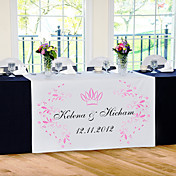 Personalize Reception Desk Table Runner - Crown