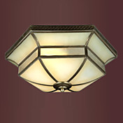 Classic Designed Flush Mount with 3 Lights