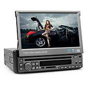 7 polegadas de tela digital de um carro din dvd player (bluetooth, rds)