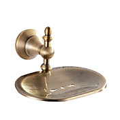 Antique Brass Wall Mount Soap Dish Holder