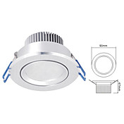 3W LED Spotlight in Warm White Light Source