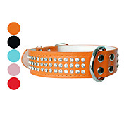 Diamond Style Adjustable Dog Collar (Assorted Colors)