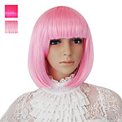 Capless Bob Style Synthetic Party Wig Two Colors Available