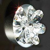 Egypt Imported Crystal Wall Light with 2 Lights - Floral Shade