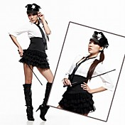 Cute And Sexy Polyester Police Uniform (4 Pieces)