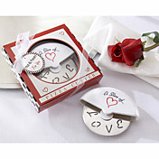 """A Slice of Love"" Stainless Steel Pizza Cutter in Miniature Pizza Box"