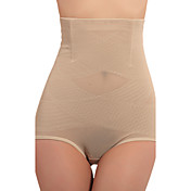 High Waist Patterned Cotton Shaping Brief