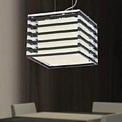 Artistic Pendant Light with 1 Light in Cubic Shaped Shade