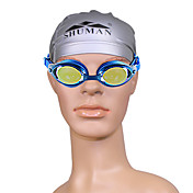 Unisex SM125 Anti-Fog Plating Swimming Goggles