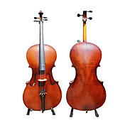 main violoncelle pinette massif satin avec support