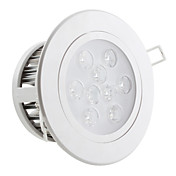9W 800LM 7000-7500K Cold White Light LED Ceiling Bulb (85-265V)