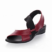 Leather Casual Flat Sandals (More Colors)