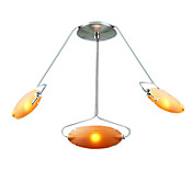Modern Pendant Light with 3 Lights