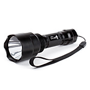 UltraFire C8 5-Mode Cree XR-E Q5 LED Flashlight (1x18650, Black)