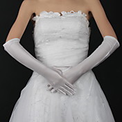Spandex Elbow Length Bridal Gloves (More Colors Available)