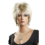 Capless Short High Quality Synthetic Straight Sexy Wigs