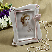 Embracing Hearts Design Resin Photo Frame