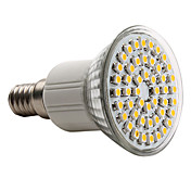 E14 3528 SMD 48-LED Warm White 120-150LM Light Bulb (230V, 2.5-3W)