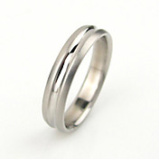 titanium staal heren ring