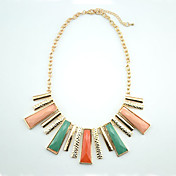 Black&White Or Multicolor In Alloy Necklace (More Colors)