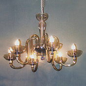 Candle Featured Chandeliers with 6 Lights