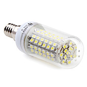 e14 5w 96x3528 SMD 250-300lm 6000-6500k lmpada de milho branco natural levou (220-240v)