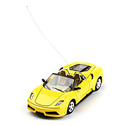 1:43 Remote Control Alloy Roadster Controlled by Android and IOS (Yellow)