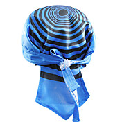 KOOPLUS-Men's 100% Polyester Cycling Headscarf (Blue)