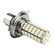 H4 7.14W 1210 SMD 102-LED White Light Bulb for Car Lamps (DC 12V)