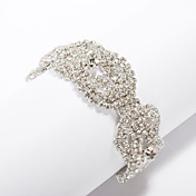 Gorgeous Ladies' Wire Cutter Rhinestone Bracelet