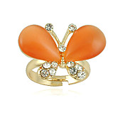Charming Alloy Butterfly Design Crystal Fashion(More Colors)