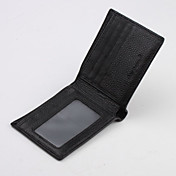 Refinded Design and Meticulous Casual Leather Wallet for Man(14*12*3cm)